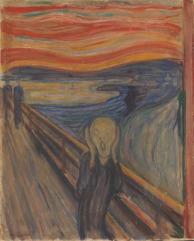 NOR anvendt Skrik, ENG anvendt The Scream