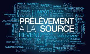 Prlvement  la source impt direct sur le revenu loifinance publique nuage de mots texte tag cloud